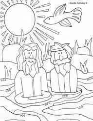Hairy-Scarey John the Baptist for Advent.Message in his