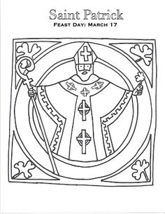 Saint Elizabeth Ann Seton coloring page for Catholic