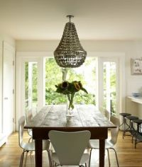 farmhouse meets mid century modern & glam?