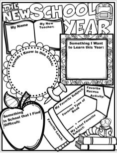 This is a big puzzle piece for students to fill in as a