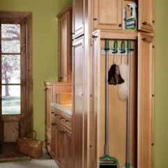 Home Depot Painting Kitchen Cabinets Hardware Stores Broom Closet Depot, Mop And Holder With Shelf ...