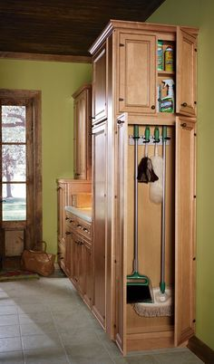 home depot painting kitchen cabinets remodel ideas for small broom closet depot, mop and holder with shelf ...
