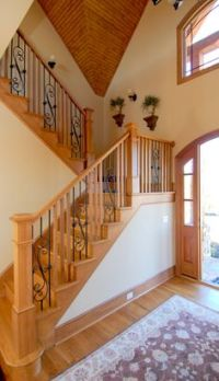 1000+ images about Staircase on Pinterest | Iron balusters ...