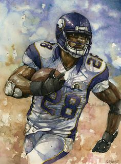 Adrian Peterson Wallpaper Iphone 1000 Images About Star Athletes Art On Pinterest