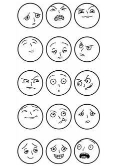 1000+ images about facial expressions on Pinterest