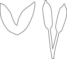Lilies, Stencils and Templates on Pinterest