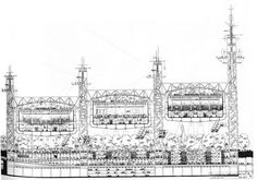 Richard Rogers and Renzo Piano / centre pompidou