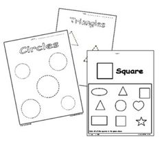 1000+ images about Preschool-theme-shapes on Pinterest