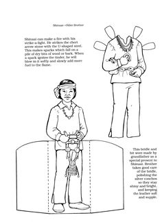 Iroquois, Paper dolls and Kids pages on Pinterest