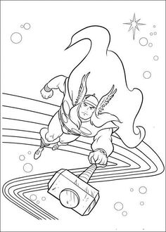 1000+ images about Super Hero Coloring Pages on Pinterest