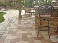 patio floors on Pinterest | Patio Flooring, Stamped ...