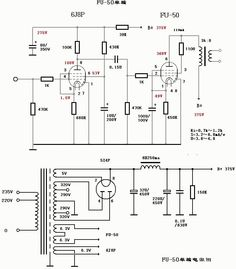Схема УНЧ 2х100 Ватт на микросхеме TDA7250 и транзисторах