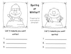Hamburger Graphic Organizer Writing Paragraph- links to a