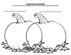 Use this worksheet to compare and contrast ANY book made