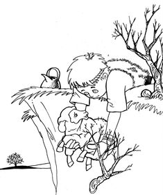 Coloring Pages for Kids by Mr. Adron: The Lord Is My