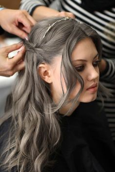 1000 images about hair etc on pinterest gray hair short hair styles and short hairstyles