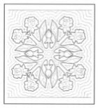 1000+ images about Hawaiian quilt blocks on Pinterest