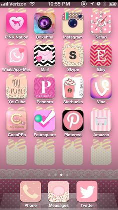 My new Cocoppa home screen! | CocoPPa Collection ...
