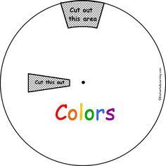 Planets Word Wheel: Printable Worksheet