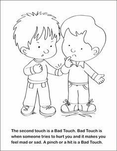 FSGC, Good Touch Bad Touch Coloring and Activity Book on