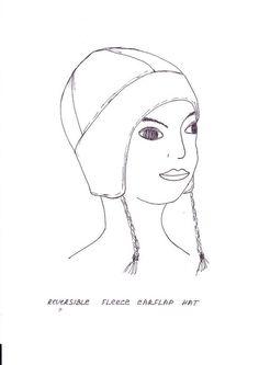 Halloween Hat Pack free fleece animal hat patterns on www