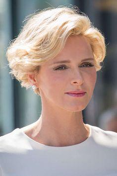Fürstin Charlène Neue Frisuren Beauty News Beauty Vogue
