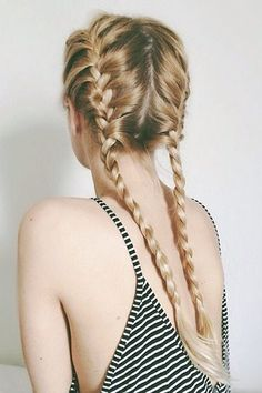 1000 ideas about two french braids on pinterest french braids braids and braided pigtails