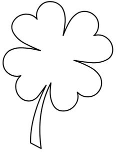 Leaf clover, Clovers and Button crafts on Pinterest