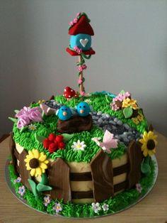 Garden Cake By Laras Theme Cakes Cakes & Cake Decorating Daily