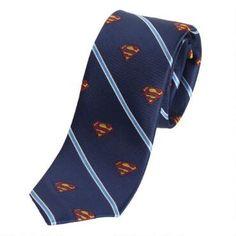 DC Comics Superman Silk Tie is a collector necktie
