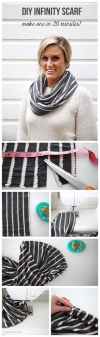 @Home and Family #DIY #Fashion #Knitted #Scarves by ...