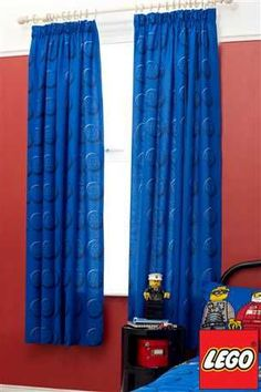 BN Lego Brick Bedding & Curtains From Next EBay House Boys