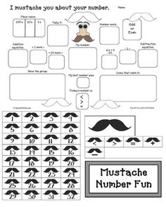 1000+ images about Mustache Activities on Pinterest