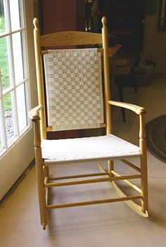 Shaker tape chair  Our Prim Home  Pinterest  Chairs and