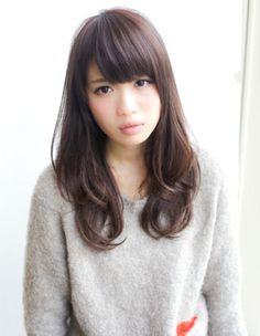 Cute Japanese Hairstyle With Bangs Haircuts With Bangs My Hair