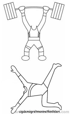 Basketball player pattern. Use the printable outline for