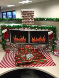 1000+ images about Office holiday decorations on Pinterest ...