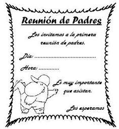 Maestr@s Preescolares: Cartas, Notitas y Anuncios a Padres