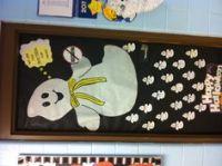 Halloween/drug awareness door decoration | educational ...