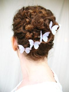 1000 Images About Butterfly Hair Accessories On Pinterest
