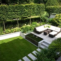Stunning Landscaped Patio Area Landform Consultants Holland