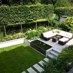 Stunning Landscaped Patio Area Landform Consultants Holland