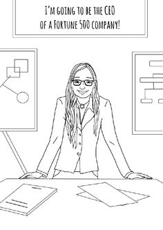 1000+ images about Feminist coloring pages on Pinterest
