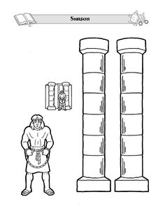 Bible coloring pages, Rebuilding the temple and The bible