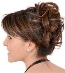Mother Of Groom Hairstyles For Wedding Mother Of The Bride Updo