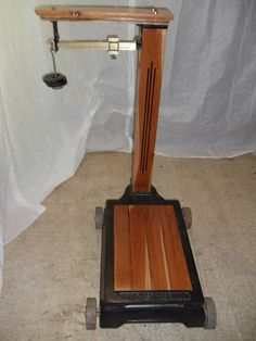 Detroit Automatic Scale Co Grocery Store Scale Vintage