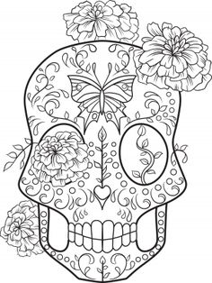 Cute insult calming coloring page with ornaments. Sweary