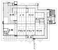 Japanese Traditional House Plan TEA HOUSE Drawing Building