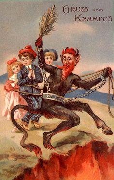 Krampusvery Bad Santa On Pinterest Saint Nicholas
