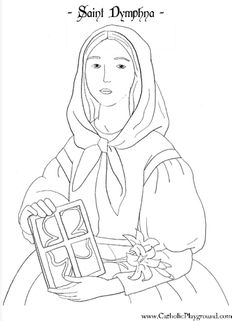 Saint Michael the Archangel Catholic coloring page: Feast